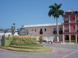 Monumento Jarocho en Tlacotalpan.
